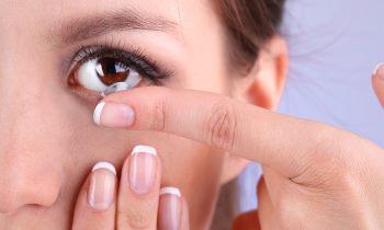 Как нужно носить контактные линзы