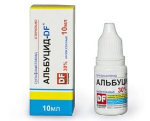 Описание препарата Альбуцид