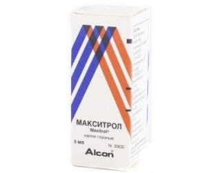Макситрол - средство от воспаления глаз.