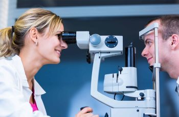 Описание строения глаза человека.