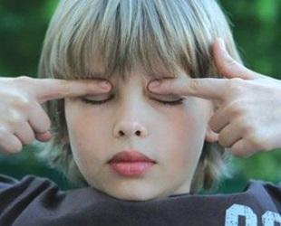 Массаж для глаз для улучшения зрения