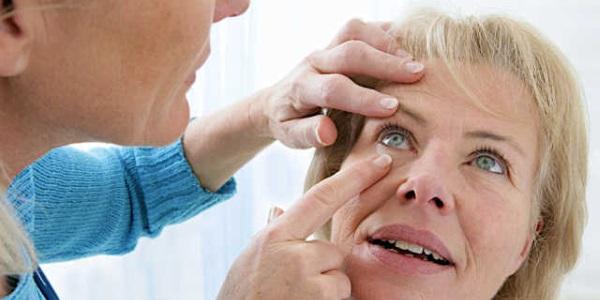 Ощущение инородного тела в глазу